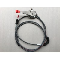 910/48800 JCB THROTTLE CABLE ASSY WITH LEVER